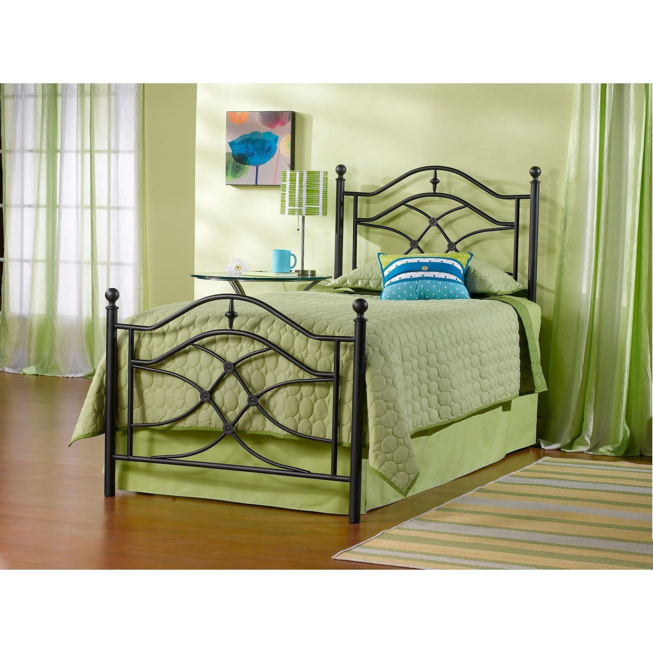 Bedroom Set with Mattress Included Unique Hillsdale Cole Bed Set Twin Rails Not Included Black