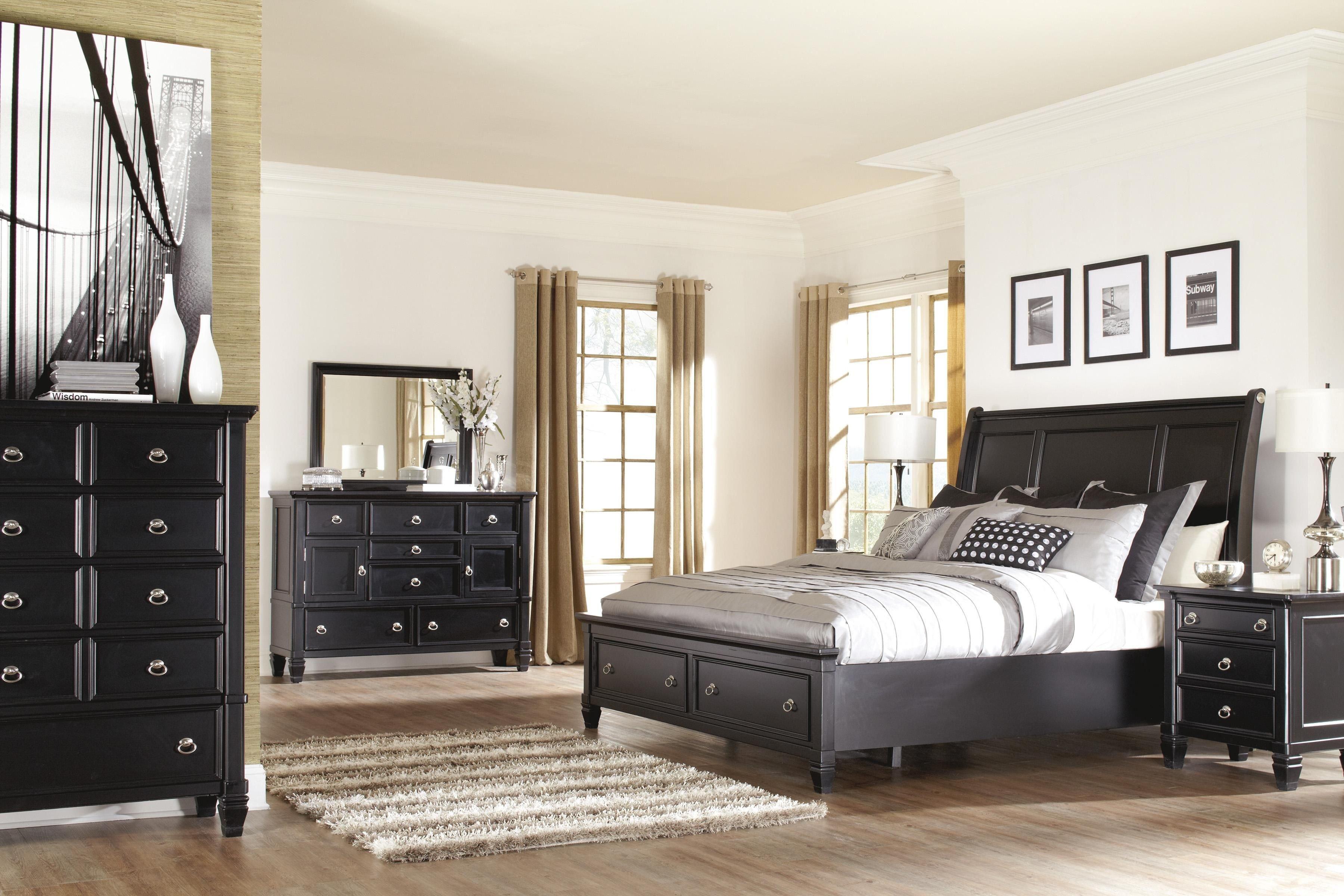 Bedroom Set with Storage Beautiful Millenium Greensburg