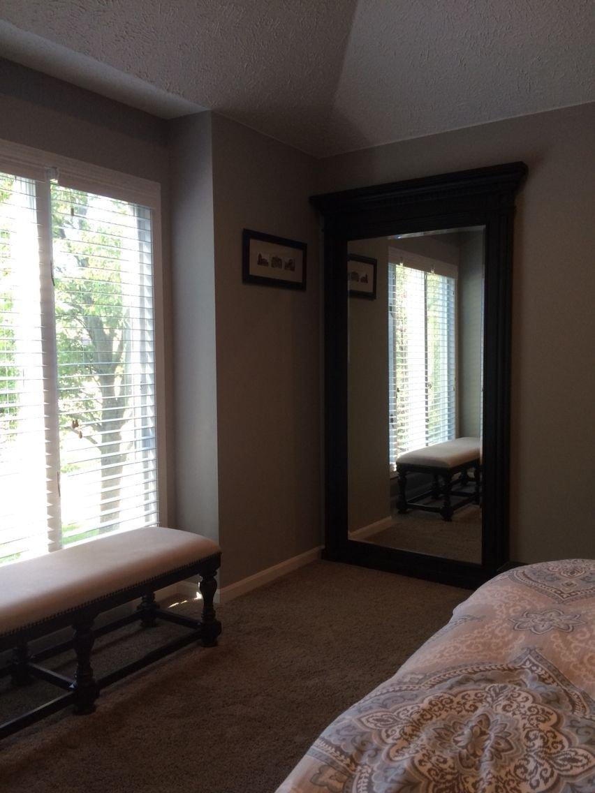 Bedroom Sitting area Ideas Luxury Master Bedroom Sitting area with Large Mirror