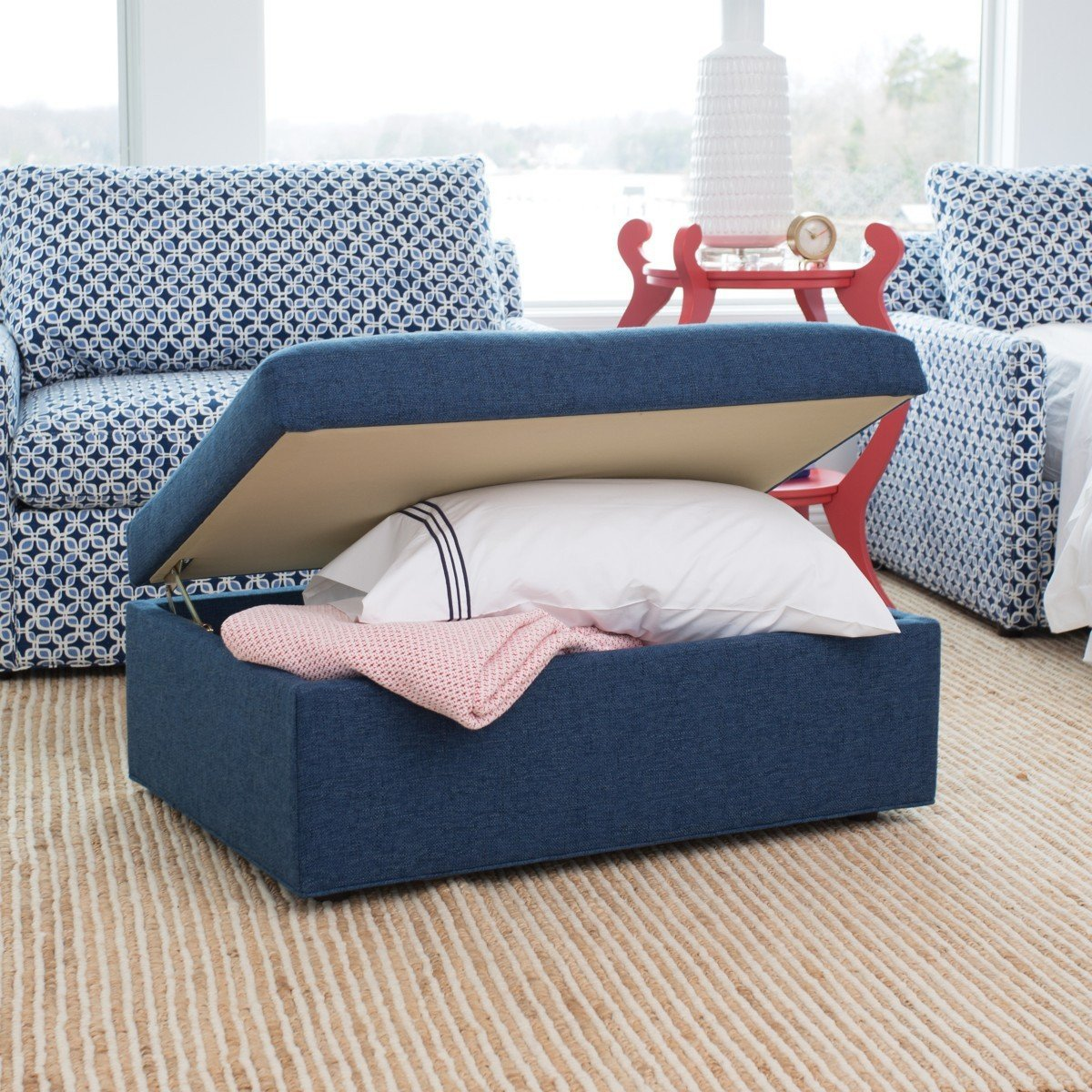 Bedroom Storage Bench Seat Elegant Milly Storage Ottoman