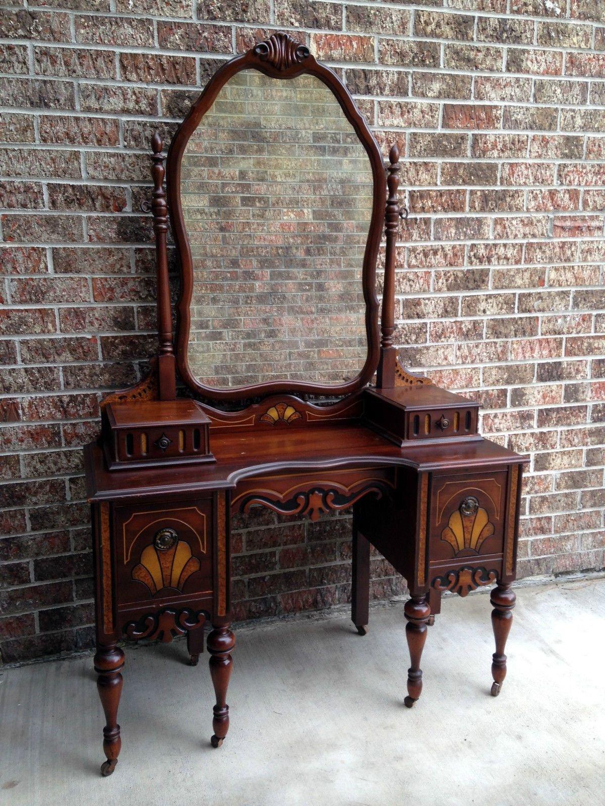 Bedroom Vanities for Sale Elegant Antique Bedroom Vanity Makeup Dressing Table Desk W Gorgeous