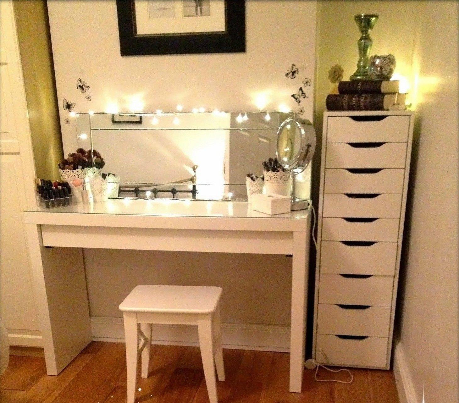 Bedroom Vanities with Light Inspirational Diy Corner Makeup Vanity