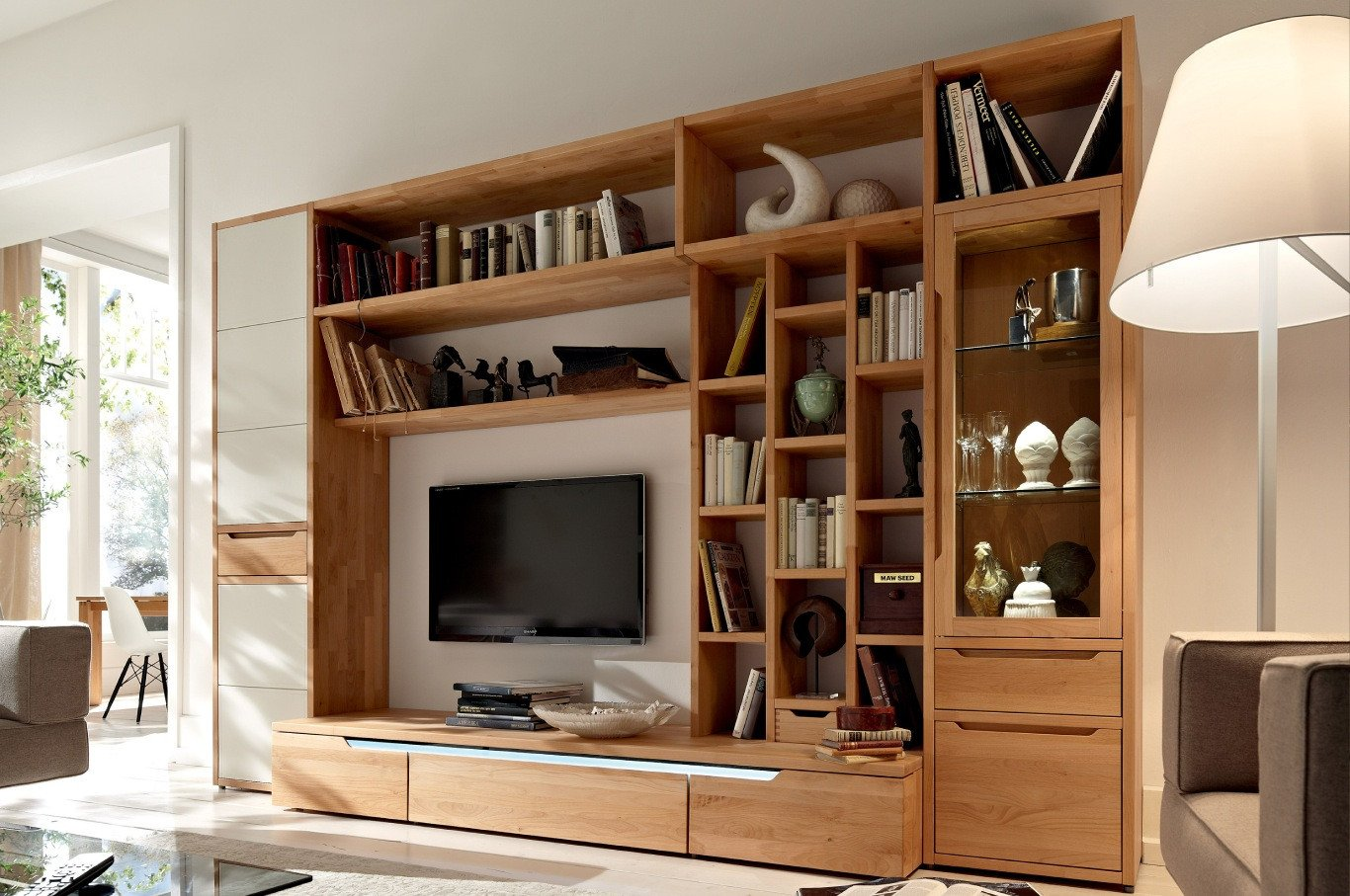Bedroom Wall Units with Drawers Fresh Wooden Finish Wall Unit Binations From Hülsta