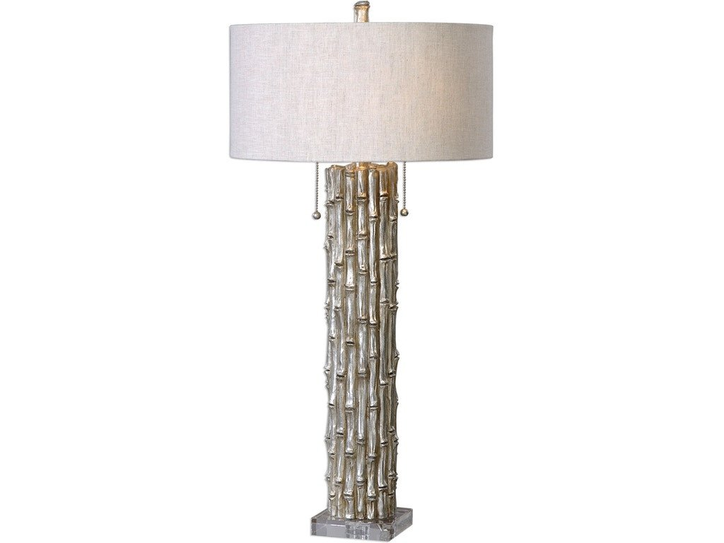 Bernhardt Bedroom Furniture Discontinued New Uttermost Lamps and Lighting Silver Bamboo Table Lamp Ut Walter E Smithe Furniture Design