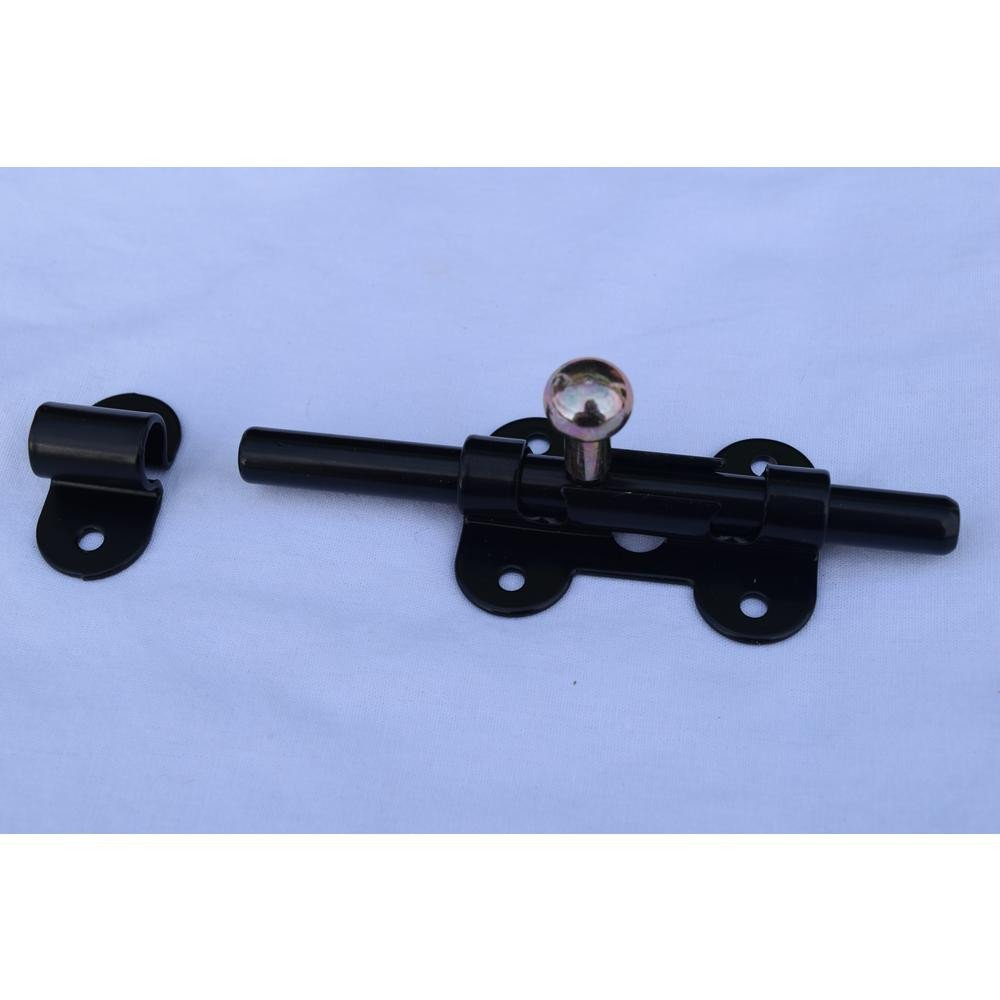 Best Bedroom Door Lock Beautiful 4 1 2 In Iron Black Barrel Sliding Lock