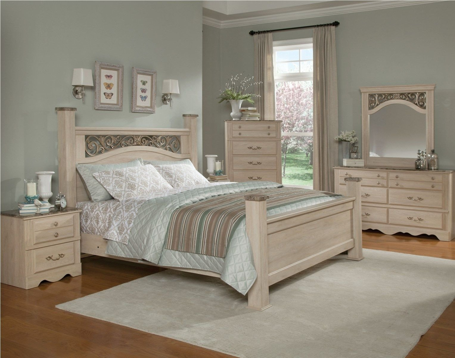 Best Deals On Bedroom Set Lovely Standard Furniture torina Poster Bedroom Set In Light Cream
