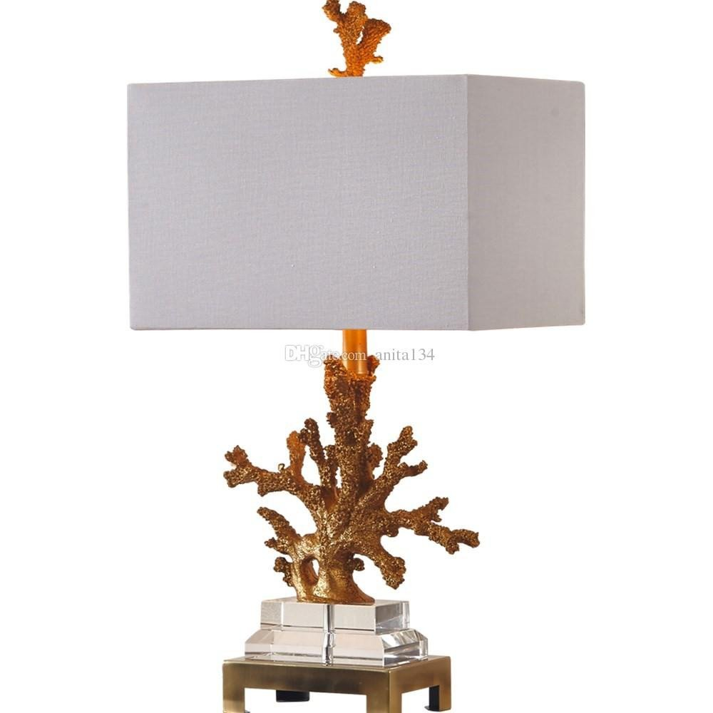 Best Lighting for Bedroom Luxury Luxury Fabric Cover Table Lighting for Living Room Modern north Europe Style Crystal Table Lamp Bedroom Lamp for Home Lighting