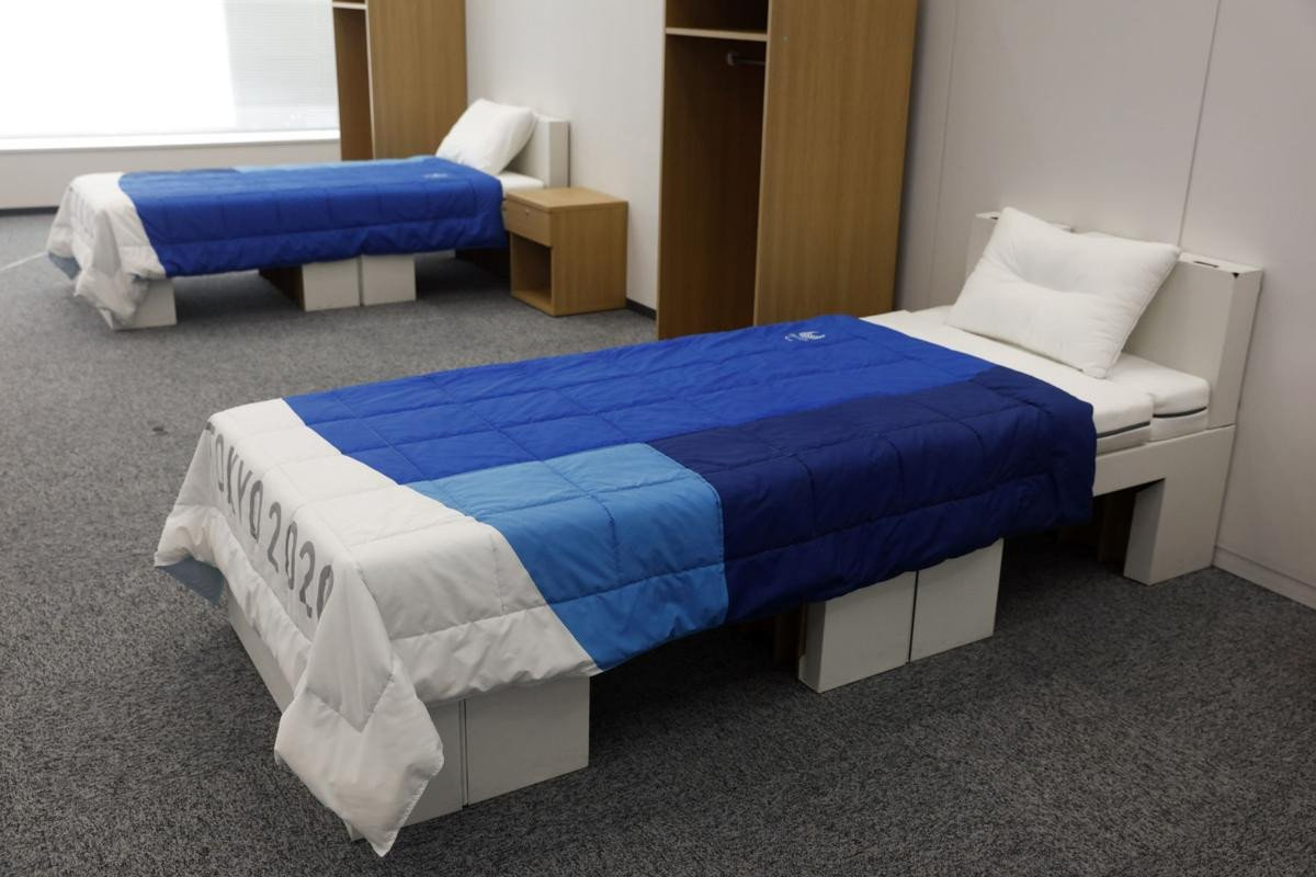 Best Place to Buy Bedroom Furniture Elegant An Olympic First Cardboard Beds for tokyo athletes Village