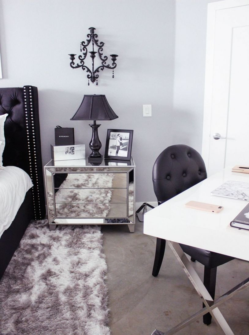 Black and Silver Bedroom Ideas Awesome Black and White Bedroom Home Ideas Modern White Bed Design