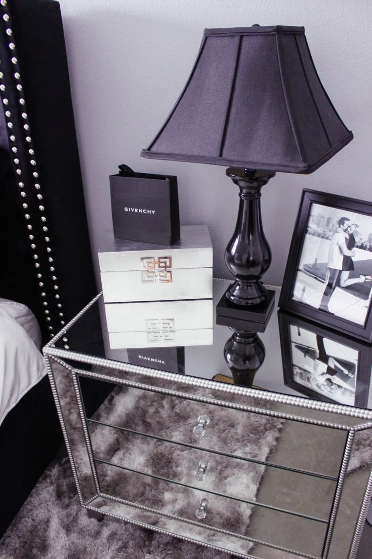 Black and Silver Bedroom Set Luxury Black and White Bedroom Decor Reveal Black and Silver