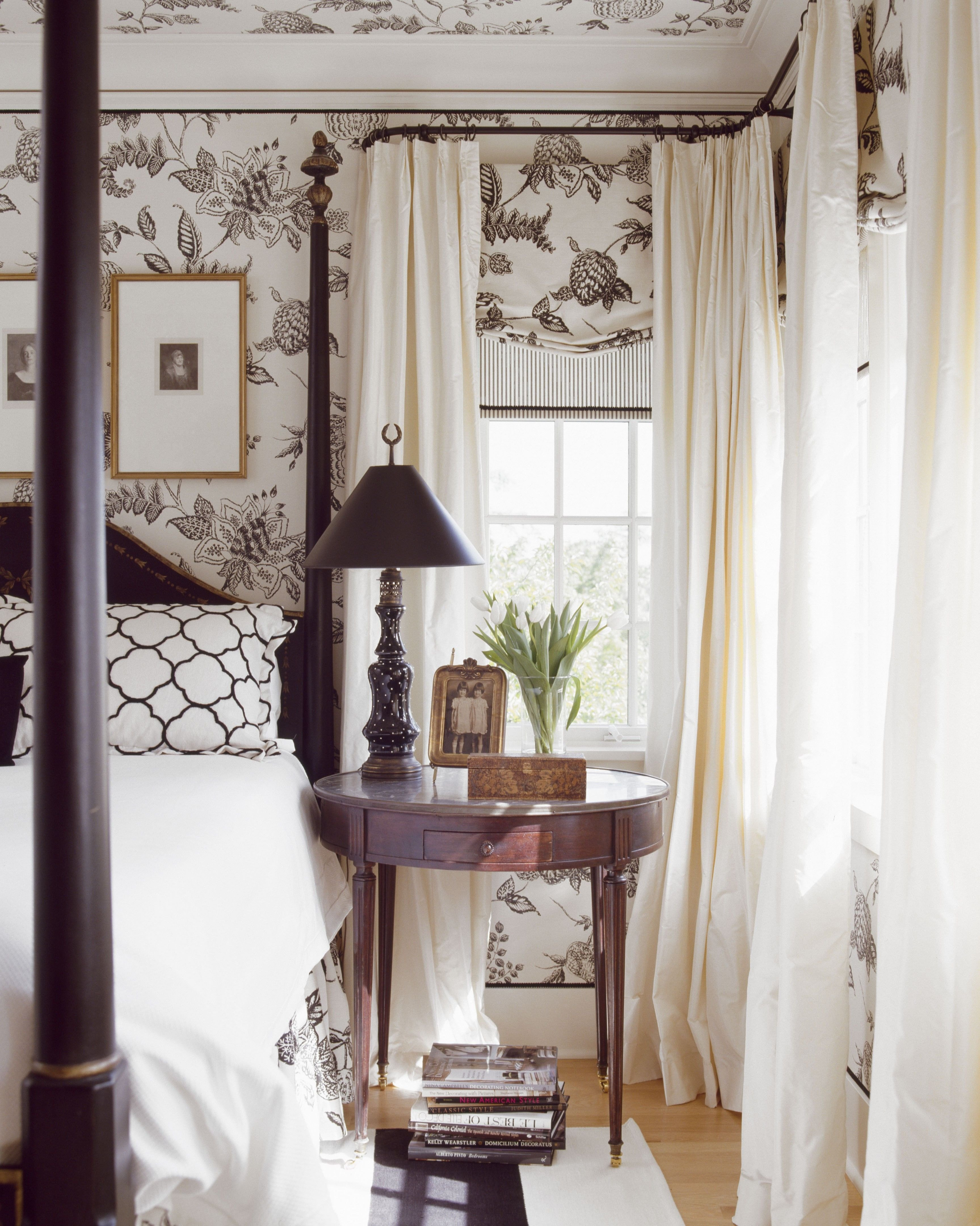Black and White Bedroom Curtains New 7 Stunning Rooms that aren T Afraid Of Pattern