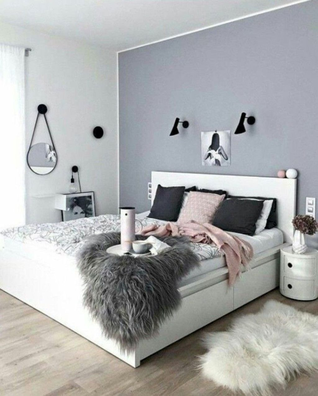 Black and White Teenage Bedroom Unique 42 Lovely Valentine Master Bedroom Decor Ideas