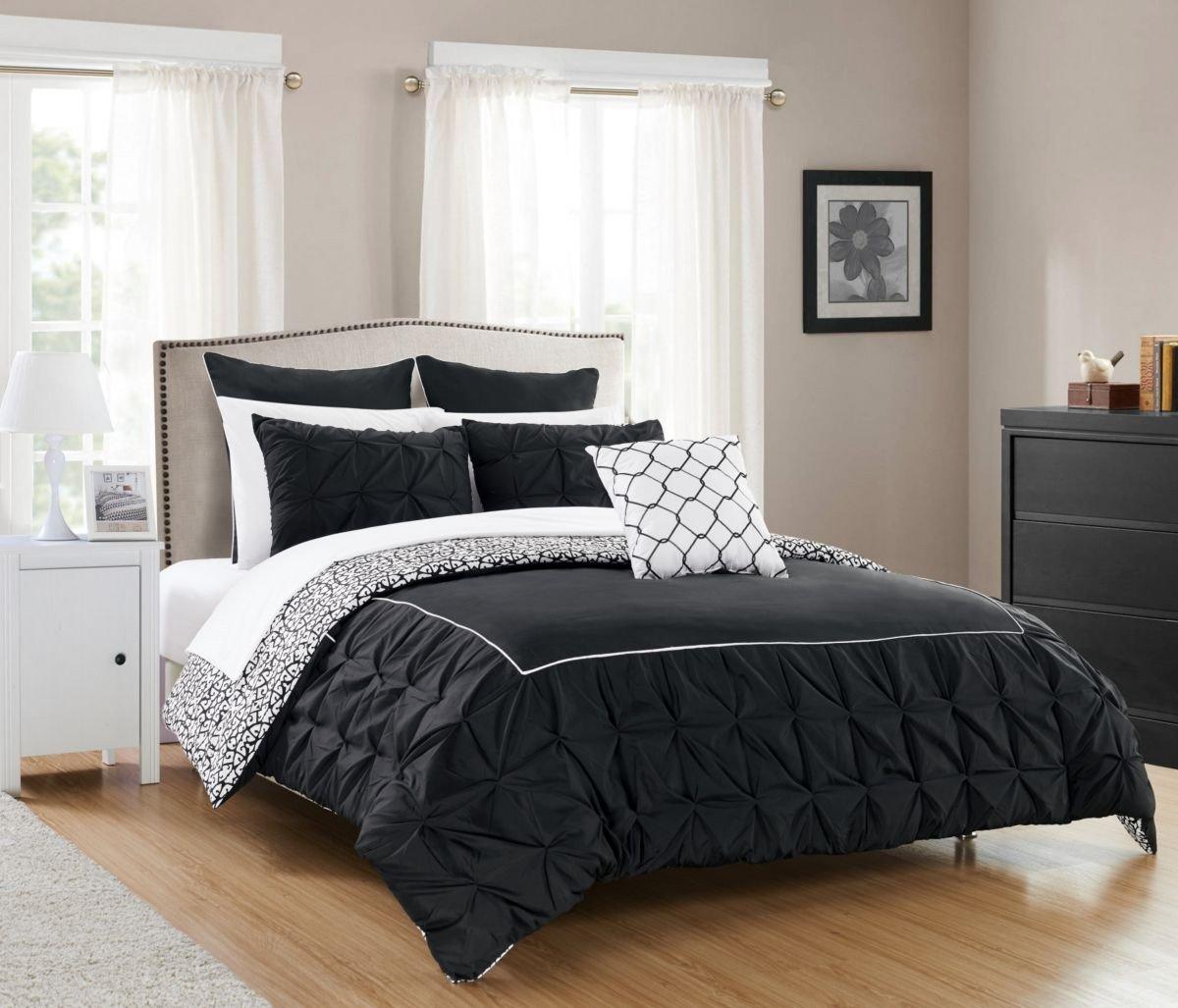 Black Bedroom Comforter Set Inspirational Chic Home assen 10 Pc Queen forter Set Beige