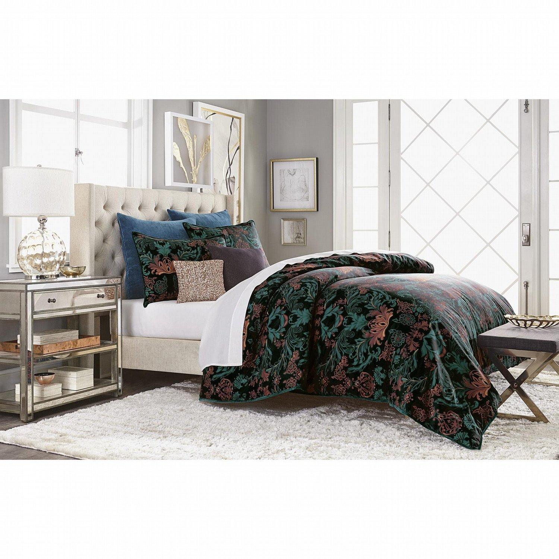 Black Bedroom Comforter Set Inspirational Jaclyn Smith 5pc forter Set Black Scroll