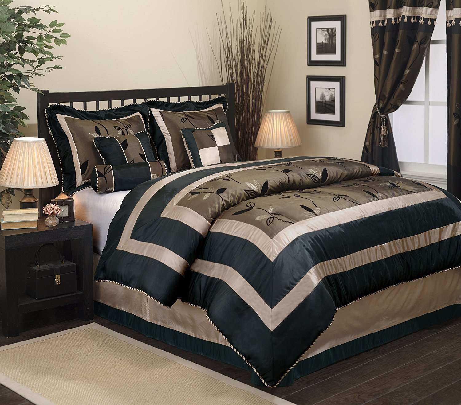 Black Bedroom Comforter Set New 63 Most Divine White Duvet Cover Double Covers King Size