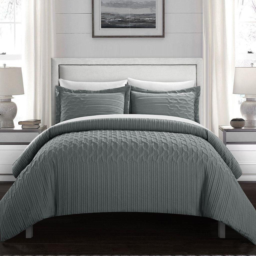 Black Bedroom Comforter Set New Chic Home Jazmine forter Set Grey Queen In 2019
