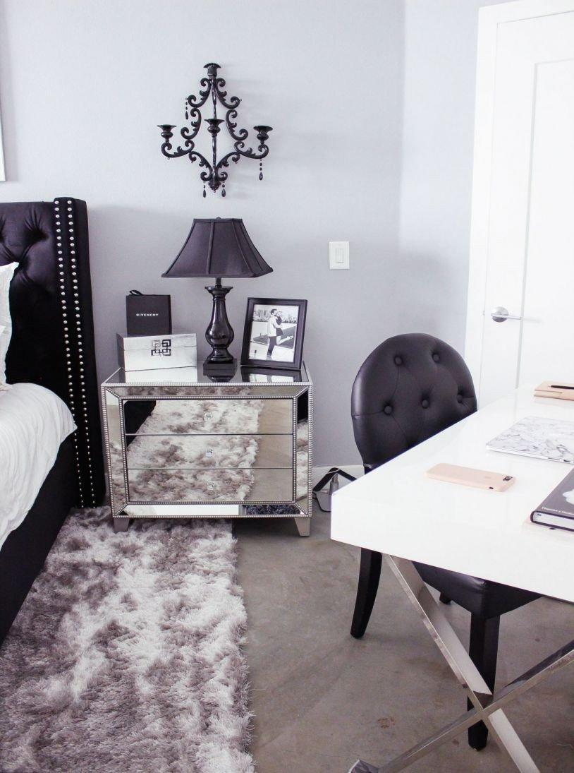 Black Bedroom Furniture Decor Best Of Black and White Bedroom Gray Bed Frame Queen — Rabbssteak