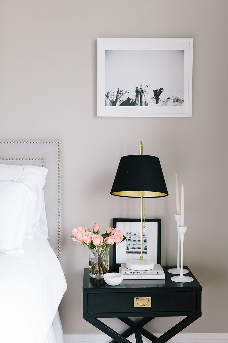 Black Bedroom Side Table Beautiful Bedroom Shelfie Inspiration From ashley Kane S San Francisco