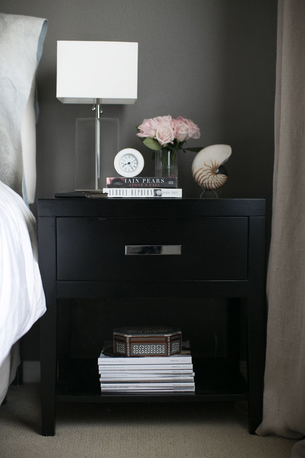 Black Bedroom Side Table Best Of Chic & Edgy Home Of Small Shop