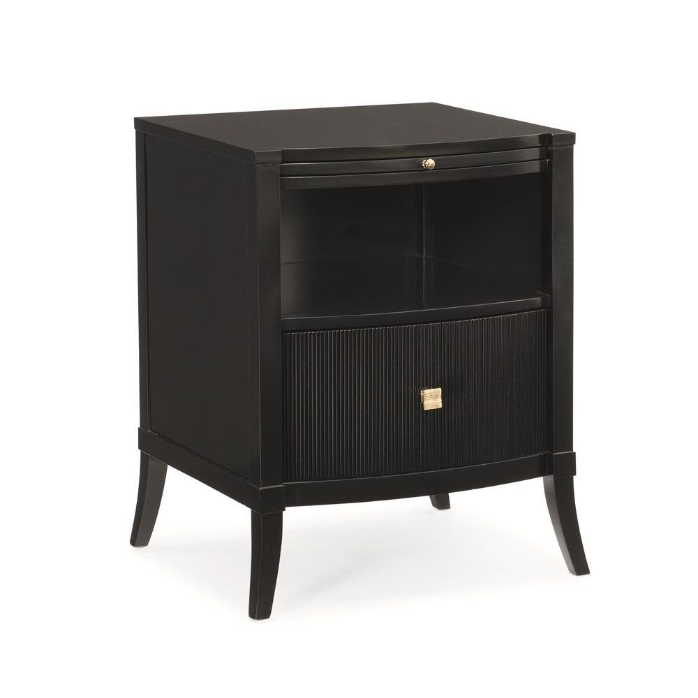 Black Bedroom Side Table Fresh Little Black Dress Nightstand