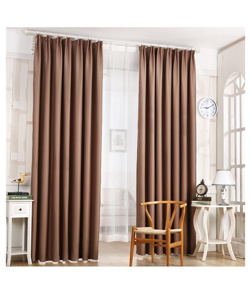 Black Curtains for Bedroom New Full Blackout solid Bedroom Balcony Living Room Window