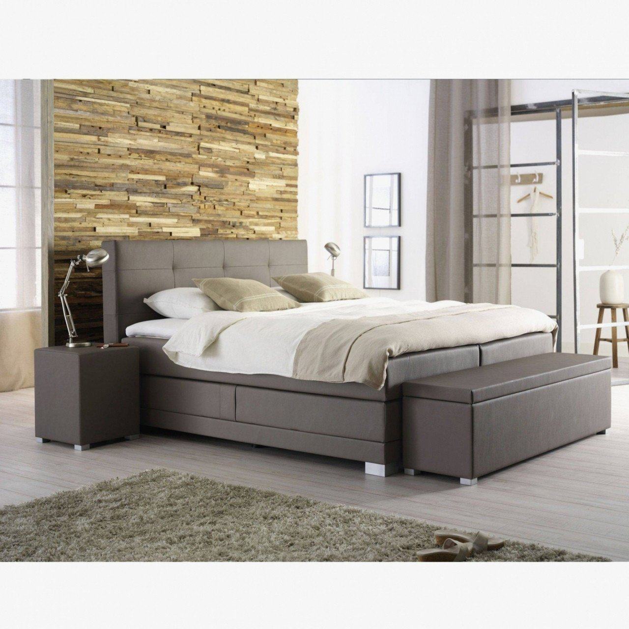 Black Leather Bedroom Set Fresh Bed with Drawers Under — Procura Home Blog