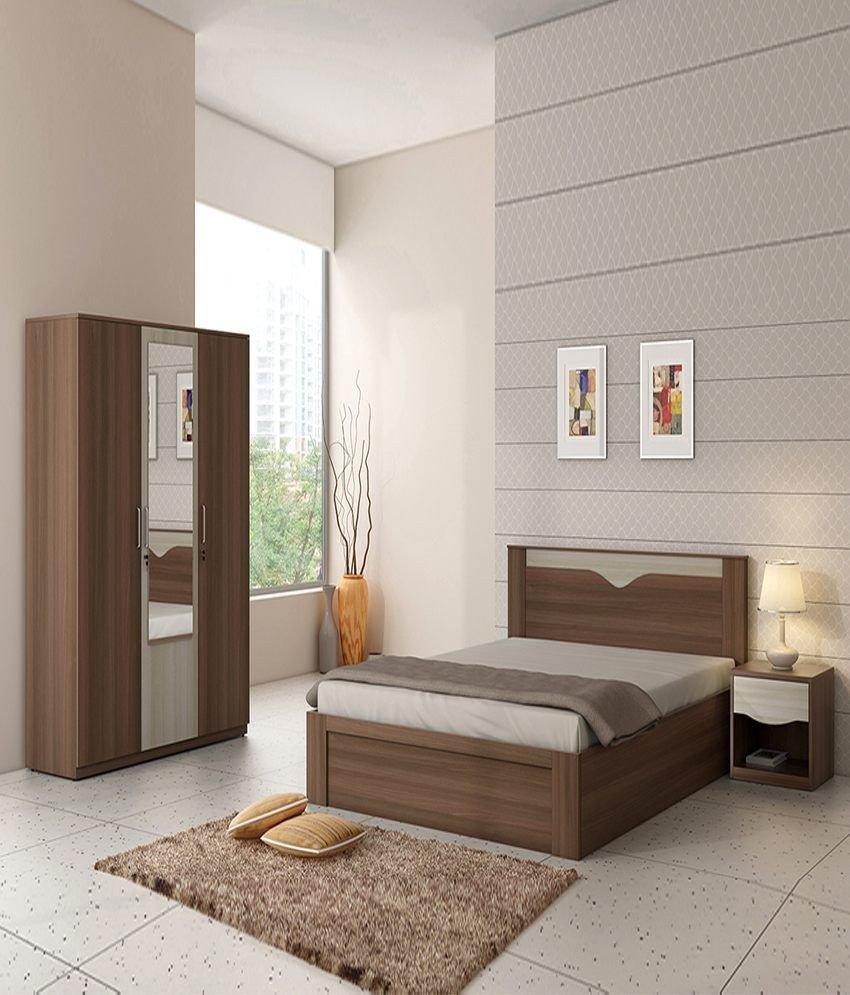 Black Mirror Bedroom Set Beautiful Spacewood Crescent Bed Room Set Queen Size Bed 3 Door