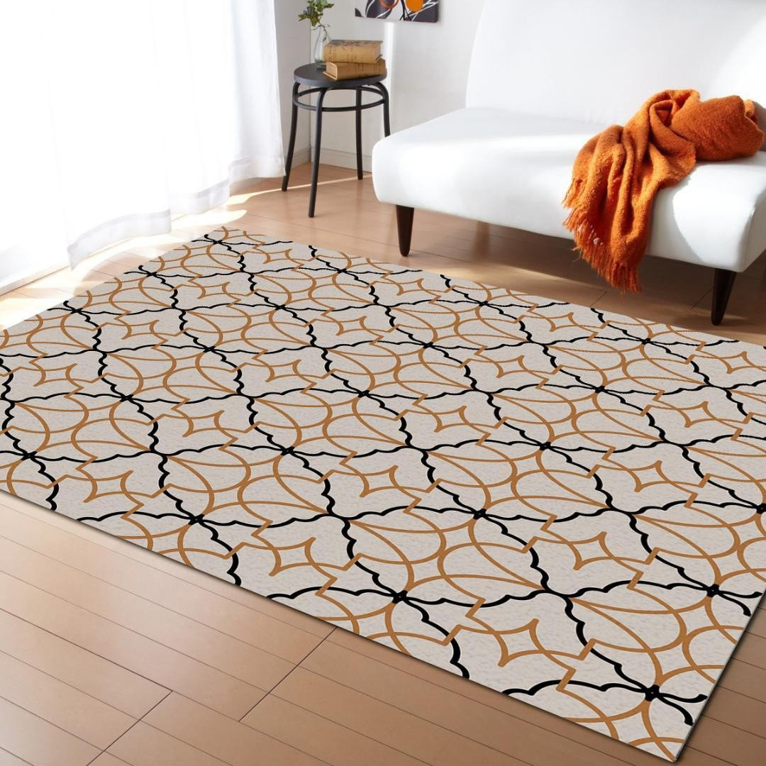 Black Rugs for Bedroom Beautiful Geometric Map Morocco Modern Carpets for Living Room Geometric Rugs Anti Slip Safety Carpet Shaw Carpets Cost Carpet From Williem $32 27