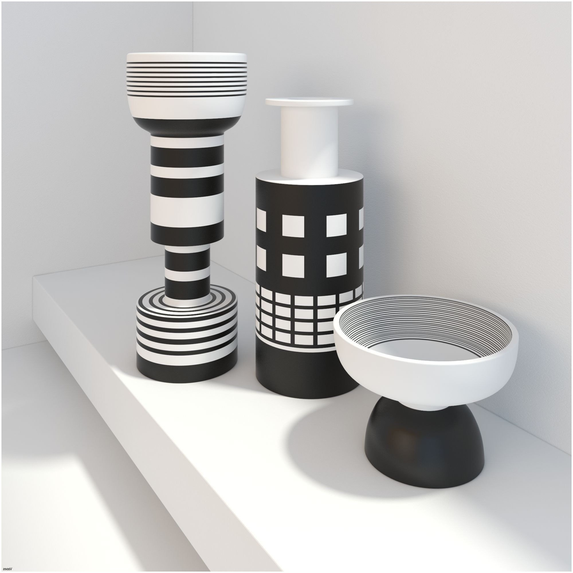 Black White and Gray Bedroom Awesome 21 Awesome Modern White Vase