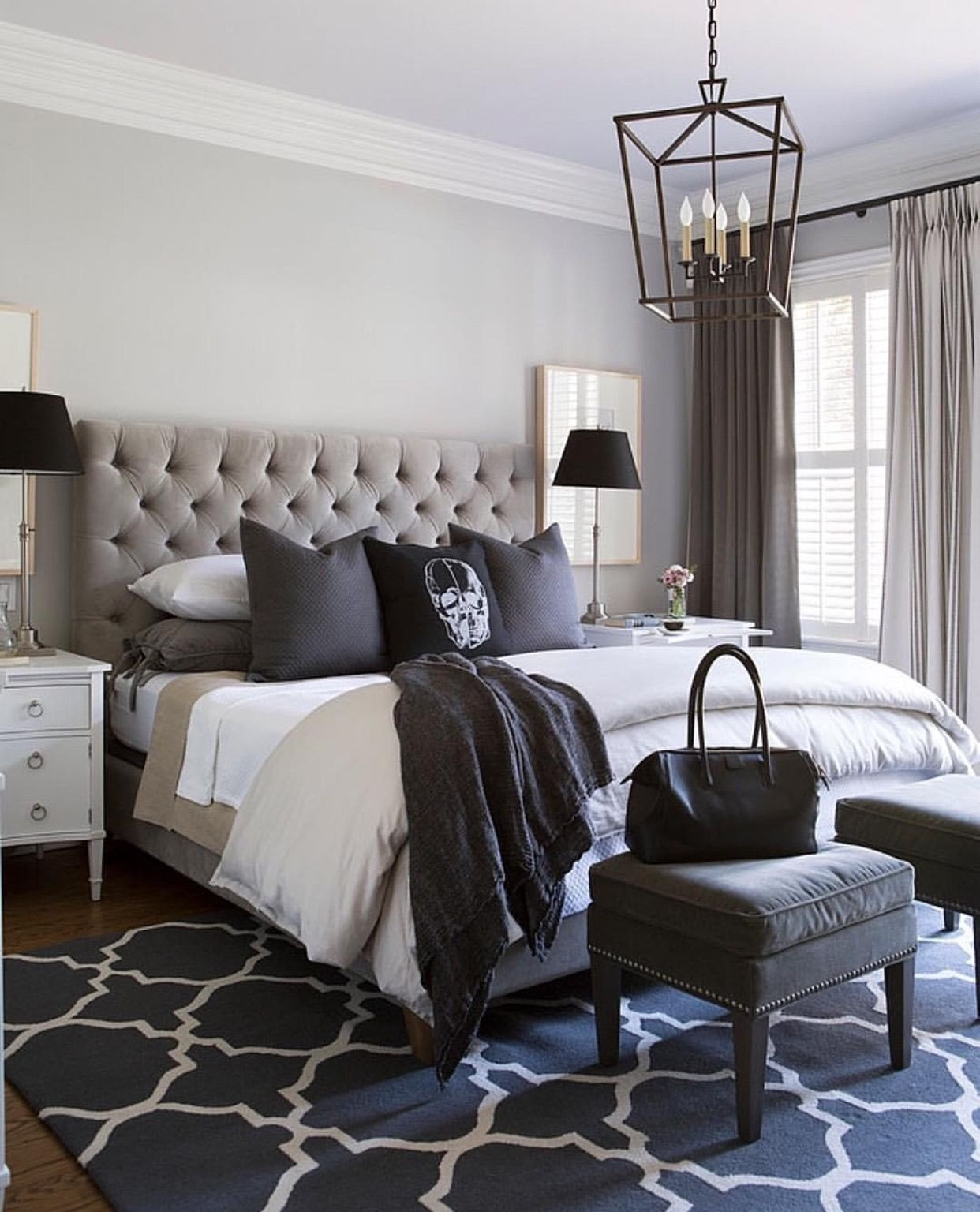 Black White and Gray Bedroom Fresh Bedroom Design Ideas