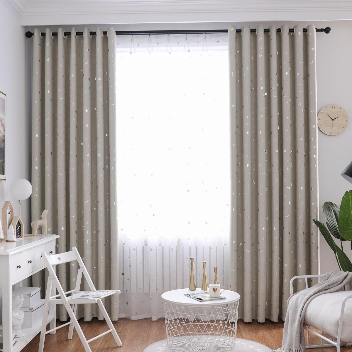 Blackout Drapes for Bedroom Best Of 2019 Summer Hot Sale Small Star Moon Blackout Curtain for Living Room Bedroom Kid S Room From Gyrotex $5 02