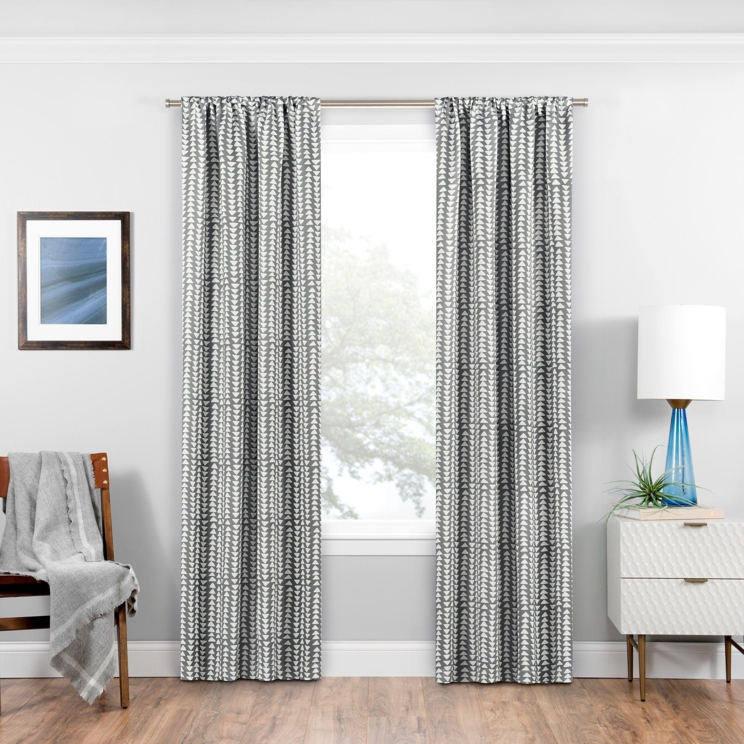 Blackout Drapes for Bedroom Best Of Eclipse Naya Blackout Window Curtain Panel 95 Inches Sky