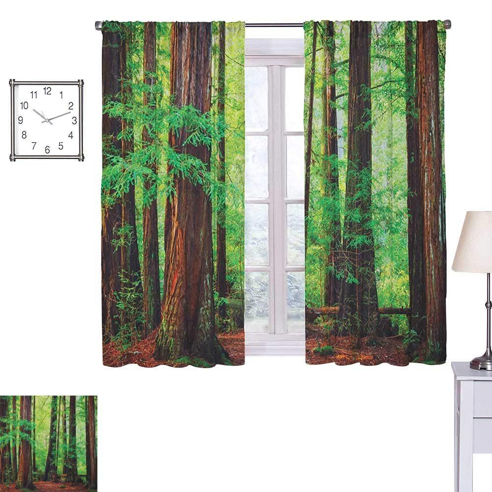Blackout Drapes for Bedroom New Amazon Superlucky Woodland Blackout Draperies for