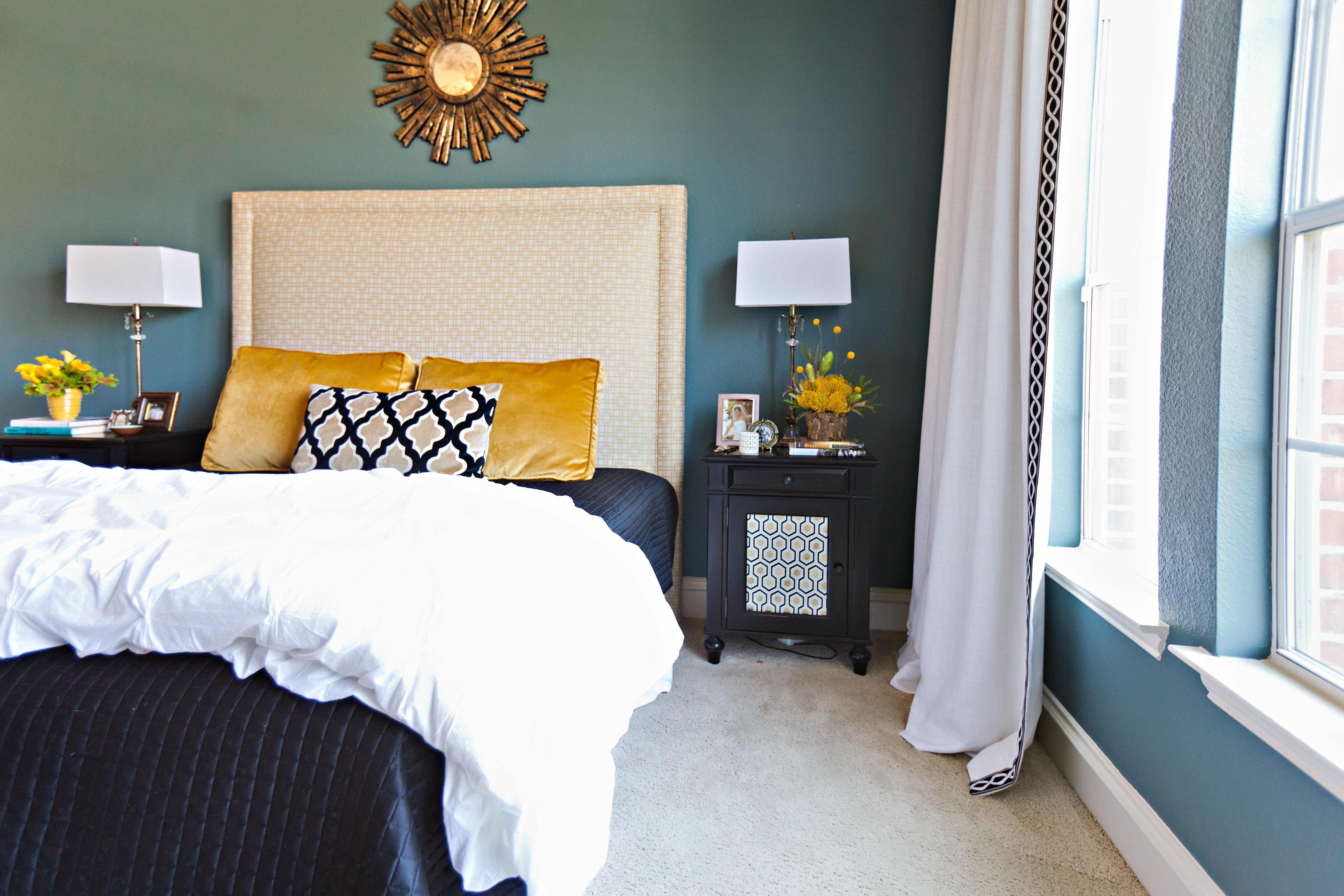 Blue and Gold Bedroom Awesome Turquoise Blue Yellow Tan with White Love these Colors