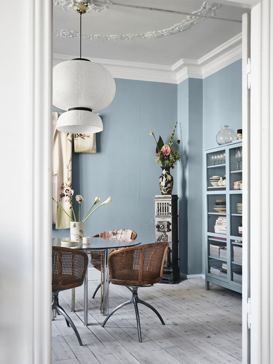 Blue and Gray Bedroom Lovely 10 Perfect Scandinavian Blue Paint Colors for Your Home