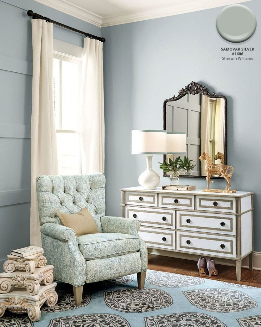 Blue and Gray Bedroom Luxury Winter 2018 Catalog Paint Colors