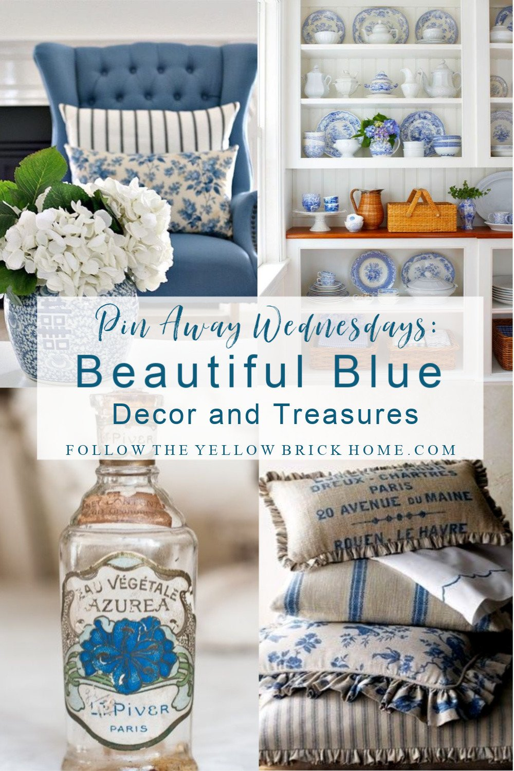 Blue and Tan Bedroom Elegant Follow the Yellow Brick Home Pin Away Wednesdays