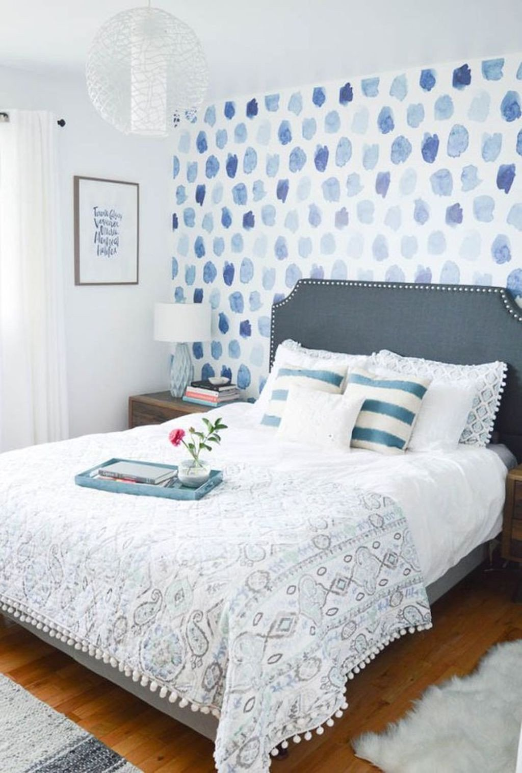 Blue and White Bedroom Ideas Inspirational 46 Elegant Blue themed Bedroom Ideas