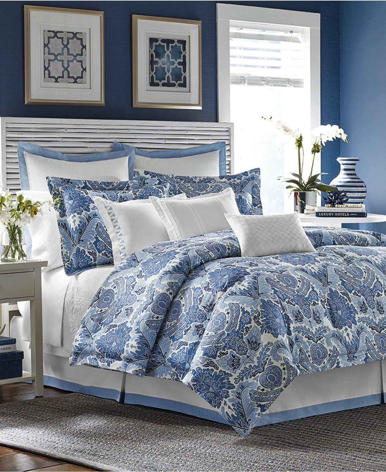 Blue Bedroom Furniture Set Inspirational tommy Bahama Porcelain Paradise forter and Duvet Sets