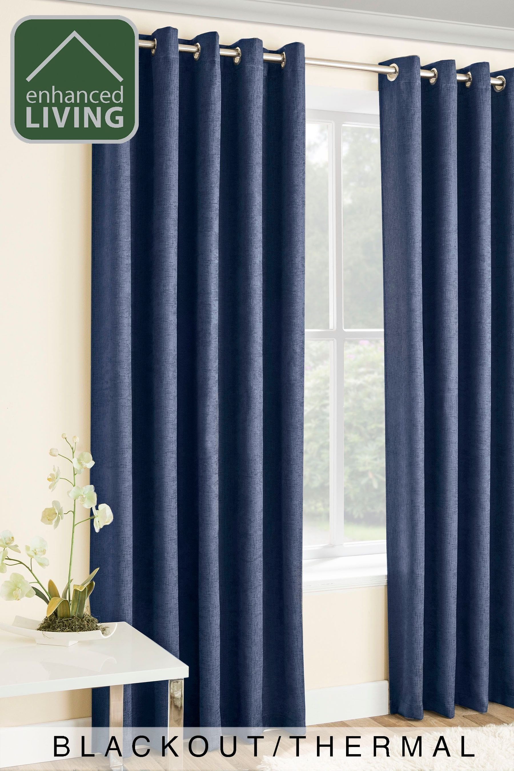 Blue Curtains for Bedroom Luxury Enhanced Living Lined thermal Blackout Curtains