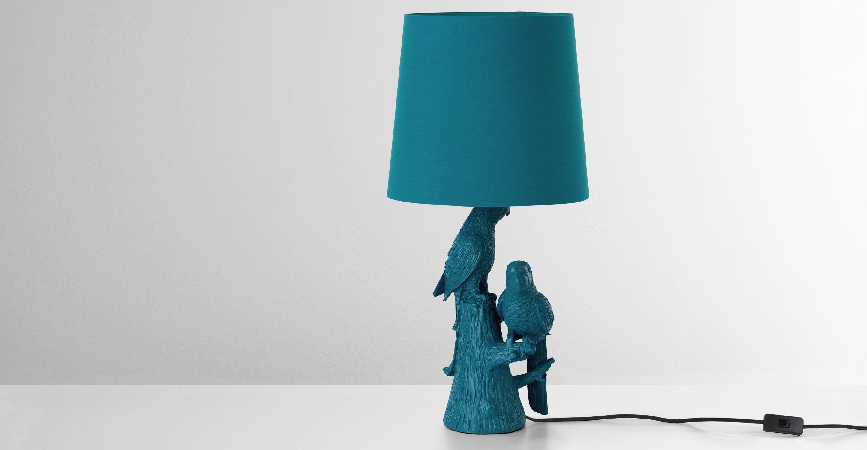 Blue Table Lamps Bedroom Best Of Parrot Lampe De Table Bleu Canard 3 A 3