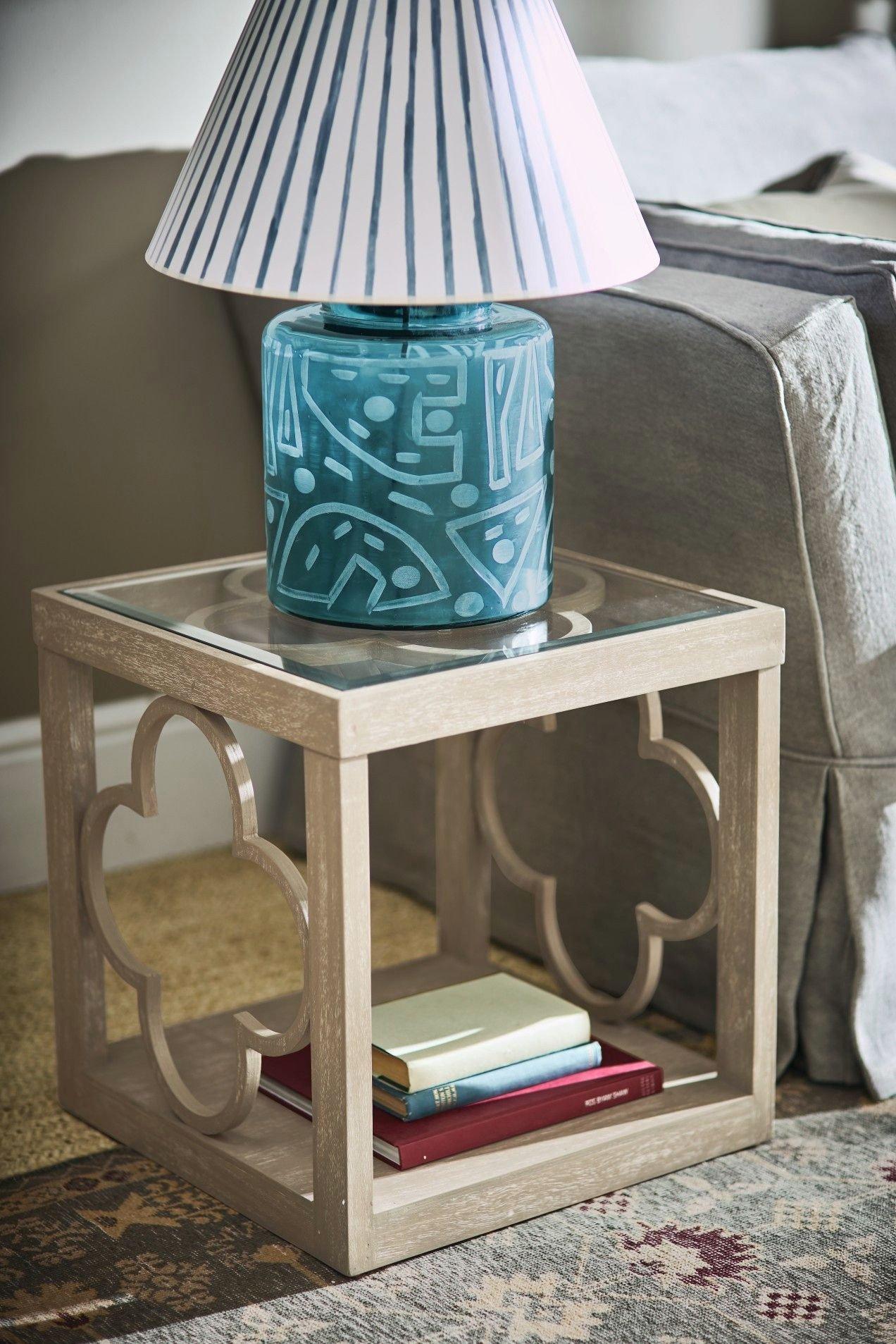 Blue Table Lamps Bedroom Elegant Illapa Table Lamp Blue