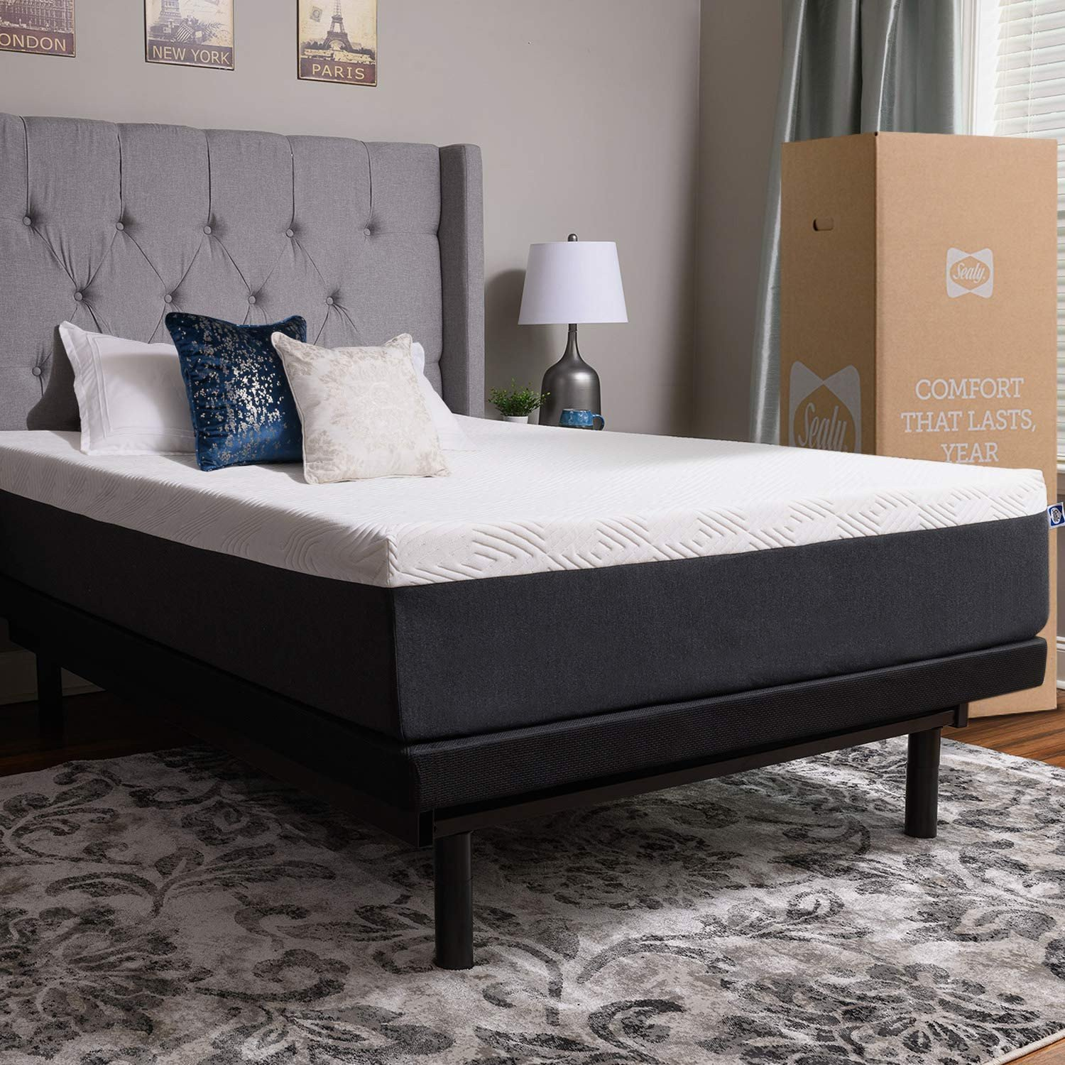 Bob Discount Furniture Bedroom Set Elegant Sealy 12 Inch Memory Foam Bed In A Box Adaptive fort Layers Medium Firm Feel Queen