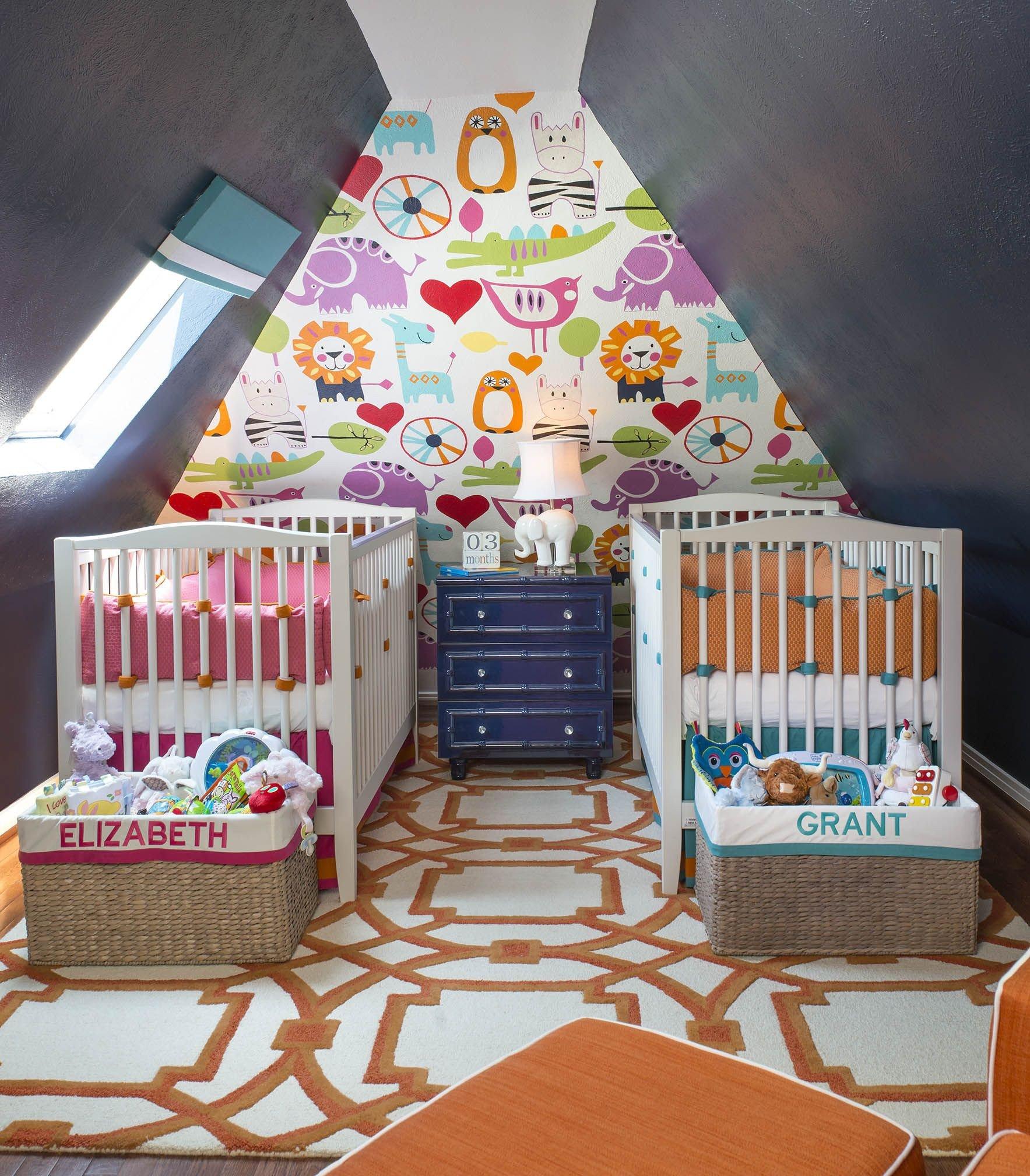 Boy Baby Bedroom Ideas Beautiful Colorful Twin Gender Neutral Nursery