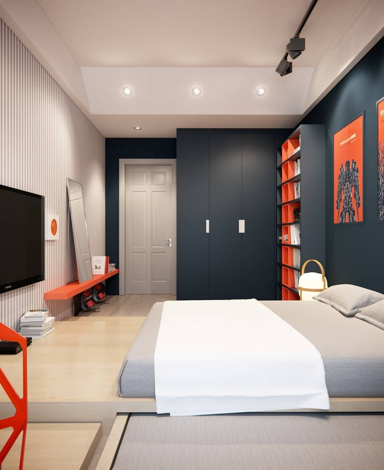 Boy Bedroom Furniture Set Awesome Pin Di Teen Bedroom Ideas