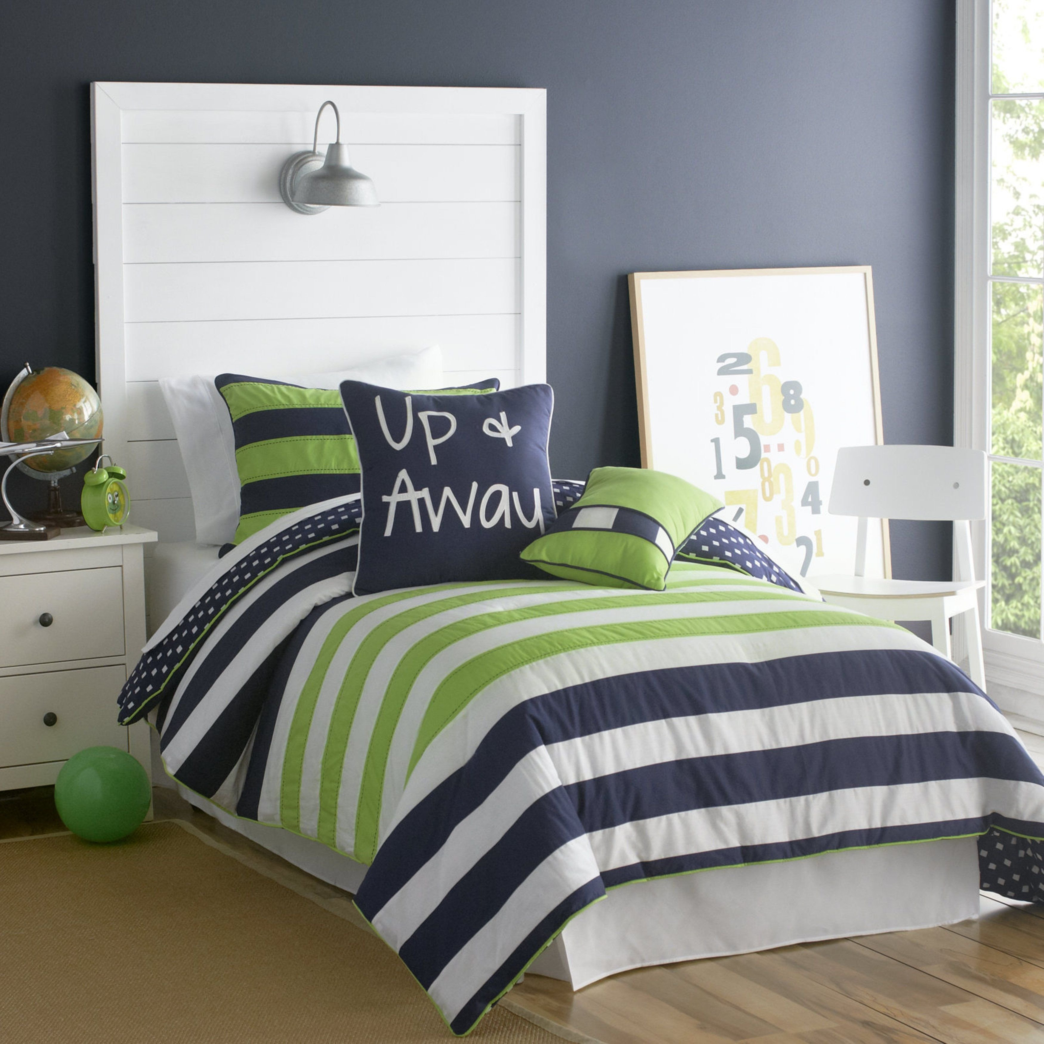 Boy Full Bedroom Set Beautiful Vcny Big Believers Up and Away 3 Piece forter Set