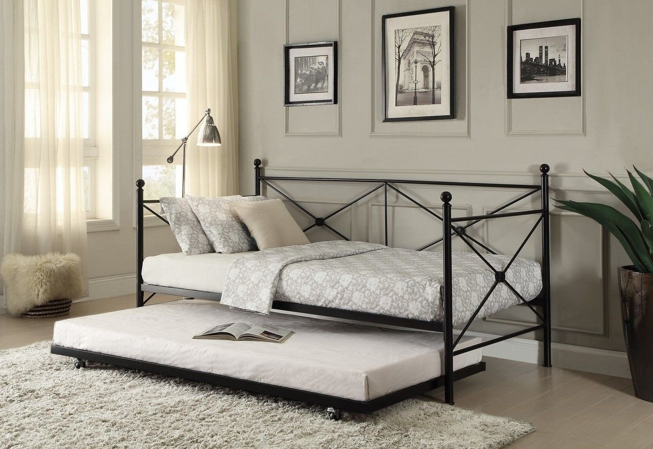 Boy Full Size Bedroom Set Elegant Jones Metal Daybed with Trundle In 2019
