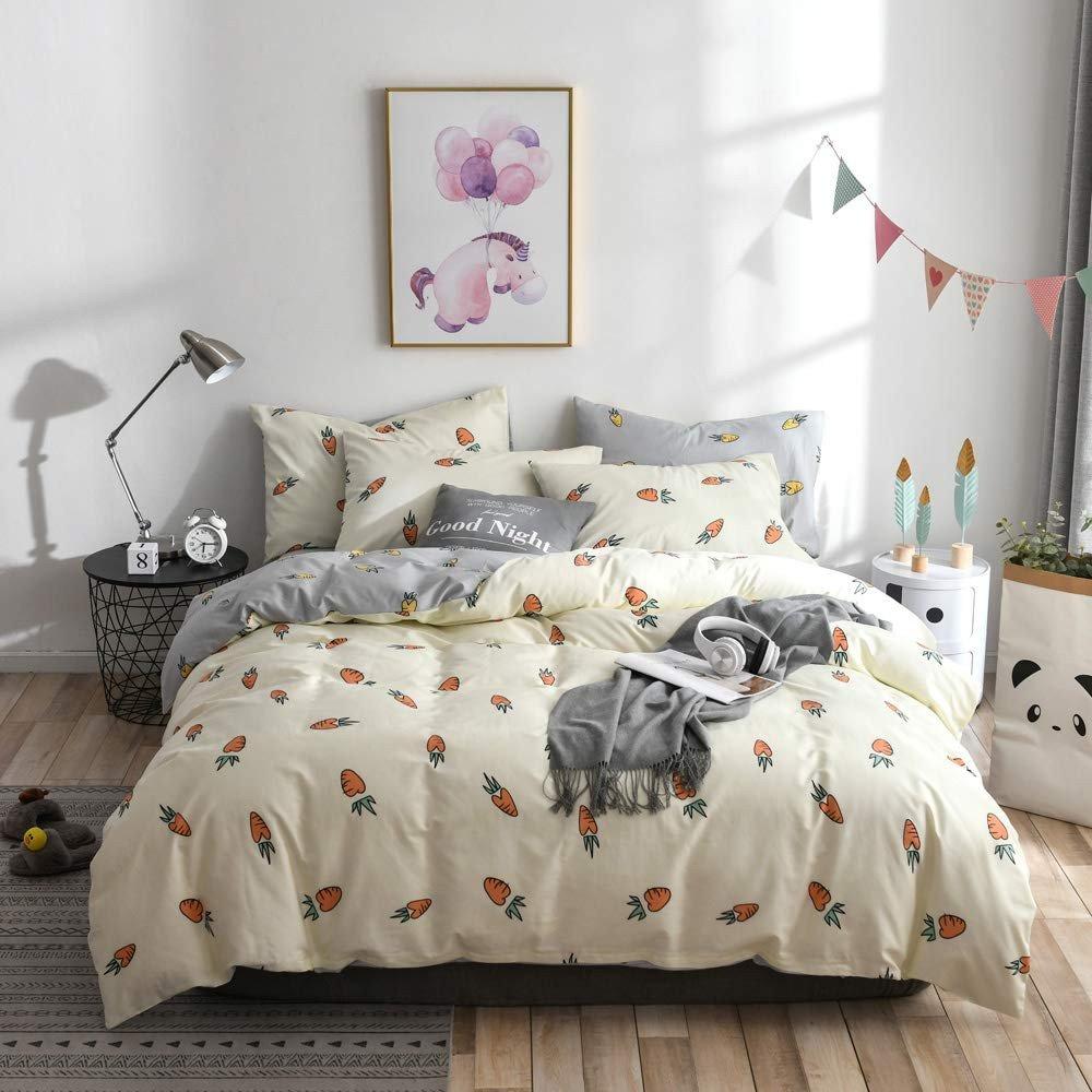 Boy Twin Bedroom Set Best Of Amazon Enjoybridal Carrot Bedding Sets Twin Premium