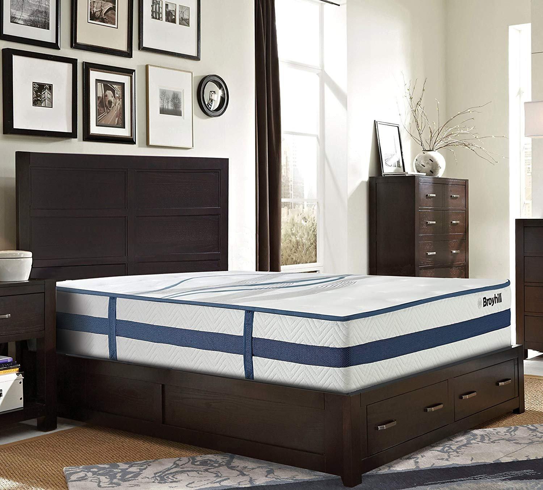 "Broyhill King Bedroom Set Lovely Broyhill Faversham Sapphire Cooling Gel Memory Foam Hybrid Innerspring Plush Mattress 11 5"" Twin Xl"