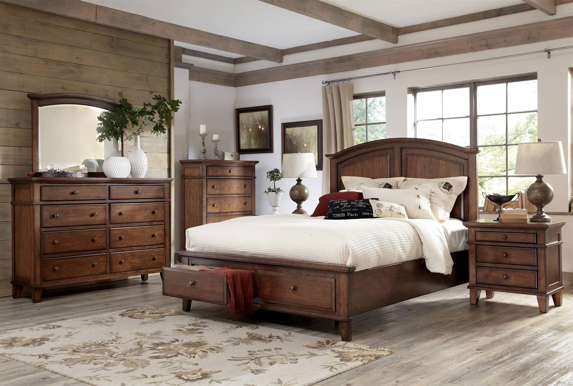 Cal King Bedroom Set Elegant Burkesville Cal King Storage Bed